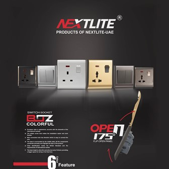 BOZ Series Colorful Range Switches & Socket