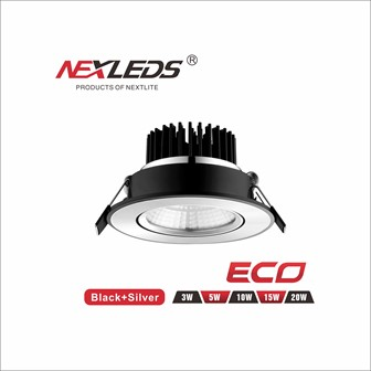 ECO LED Downlight 3W/5W/10W/15W & 18W
