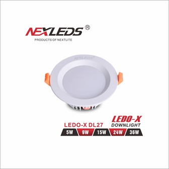 LEDO-X DL-27 5W//9W/15W/24W/36W Downlight