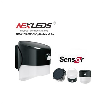 Cylindrical 2w, Solar LED Lighting