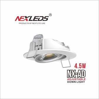 NX-AD Adjustable Downlight & NX-FX Fixed Downlight