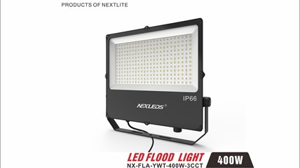 NX-FLA-YWT-400W-3CCT Changeable Color Temperature